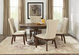 Rooms To Go Dining Room by Victory Road 54 In Brown 5 Pc Dining Room Dining Room Sets Dark
