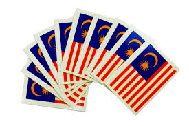 Malaysai Flag 10pcs Waterproof Flag Of Malaysia Tattoo Temporary Tattoo