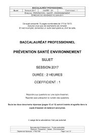 coefficient bac pro cuisine pse bac pro cours et annales corrigées
