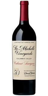 Anniversary Wine Bottles Chateau Ste Michelle 50th Anniversary Cabernet Sauvignon 2015