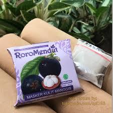 Masker Kulit Manggis Roro Mendut roro mendut masker kulit manggis murah dikirim dari surabaya rp