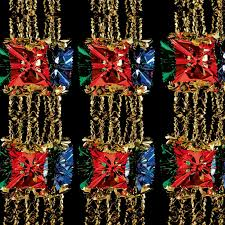 2 7m foil luxury garland large foil christmas xmas ceiling hanging