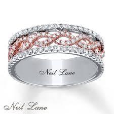 neil lane engagement rings kayoutlet neil lane designs ring 3 4 ct tw diamonds 14k two tone