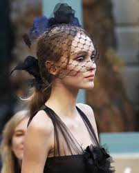 hair accesories chanel makes a strong for floral hair accessories at the