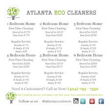 house cleaning prices atlanta eco cleaners premier house