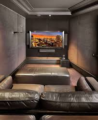 Theatre Room Design - pinterest feeling small home theater room ideas of security some