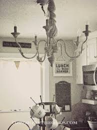 Chandelier In The Kitchen Vintage Kitchen Chandelier Cottage In The Oaks