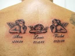 Tattoo Ideas Of Angels 45 Memorial Angel Tattoos Ideas