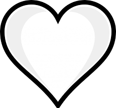 human heart coloring page heart coloring pages coloring pages for