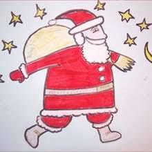 draw christmas draw step step drawing tutorials