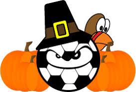 happy thanksgiving sideline soccer