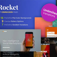 download themeforest skyrocket multiconcept coming soon pages