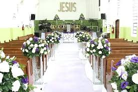 church decorations wedding decorations ideas for church chapel wedding decorations
