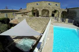 south of france holiday villa with heated pool and tub near