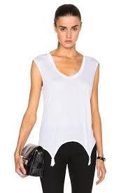 de montparnasse sale de montparnasse intime garter tank in white fwrd