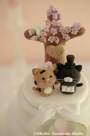 cat wedding cake toppers decoración cat and wedding cake topper k868 2433990
