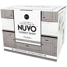 nuvo cabinet paint coconut espresso quart amazon com
