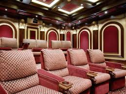 cool home theatre furniture with recliners leather sofa and
