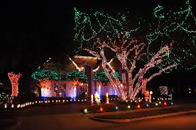 Trim A Home Outdoor Christmas Decorations by Christmas Lights Ight Show Christmas Lights Fresh Lights On This