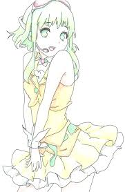 gumi color pencil by louna ashasou on deviantart