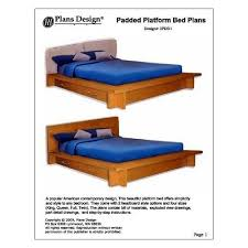 Full Size Platform Bed Plans Free by 54 Best Bed Plans Images On Pinterest Bed Plans Room And