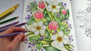 happy garden blomstermandala coloring book coloring with