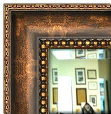 Frames For Mirrors In Bathrooms Custom Framed Mirror Idea Framed Mirrors For Bathrooms For Custom
