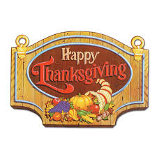 beistle 99889 happy thanksgiving sign 13 x 18 12