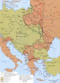 Map Of Europe 1914 Maps