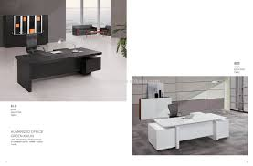 Office Executive Desk 2017 Popular Modern Design Veneer Finished Office Executive Desk