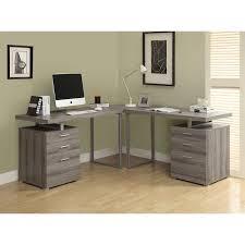 Desks L Shape Monarch Reclaimed Look L Shaped Home Office Desk Hayneedle