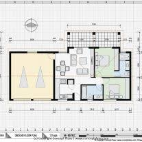 home design dwg download home architecture asian and african style small house plan dwg cad