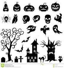 halloween tree silhouette pattern