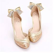 wedding shoes gold bridal shoes low heel 2015 flats wedges pics in pakistan mid heel