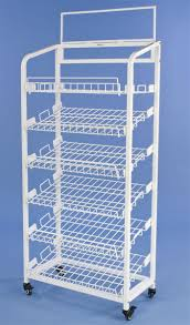 Bakers Rack Shelves Bakers Rack Steel Merchandising Fixture