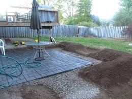 Cement Patio Cost Per Square Foot by Articles With Brick Pavers Over Concrete Porch Tag Astonishing