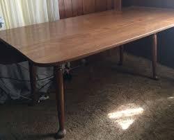 Vintage Ethan Allen Heirloom Maple DropLeaf Spoon Foot Harvest - Ethan allen drop leaf dining room table