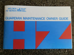 holden hz owners manual 100 guarantee u2022 aud 65 00 picclick au