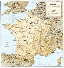 Map Of Northern France by France U0027s Land And Topography