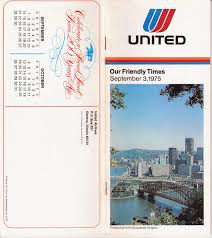 Psa Airlines Route Map by Airline Timetables United Airlines October 1975