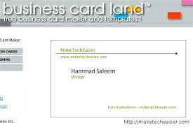 create a card online business card template online free amusing design business cards
