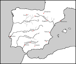 Burgos Spain Map by Transoceanic Encounters And Global Connections Europe In The