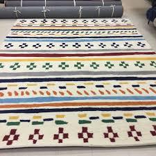 new pottery barn kids nolan 8 x 10 u0027 rug bright primary colors nwt