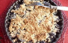 recettes de cuisine antillaise recette crumble de boudin antillais à la noix de coco et pommes