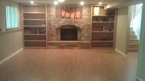 Best Flooring For Basement Bathroom by Simple Wood Flooring In Basement Room Ideas Renovation Best In