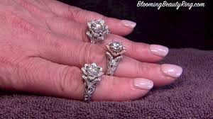 lotus flower engagement ring bouquet of roses diamond engagement rings on vimeo