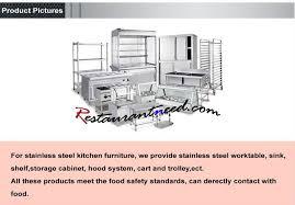restaurant kitchen furniture commercial equipment restaurant kitchen furniture stainless steel