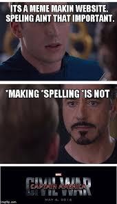 Meme Making Website - marvel civil war 1 meme imgflip