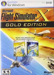 amazon com microsoft flight simulator x gold edition video games