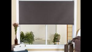 how to install roller blinds inside mount youtube